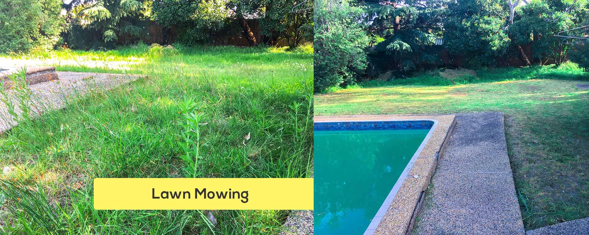 lawn mowing south morang